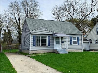 Boardman OH Single Family Home For Sale: $68,800