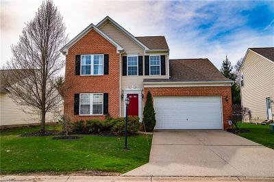 Reminderville Single Family Home Active Under Contract: 10438 Townley Court
