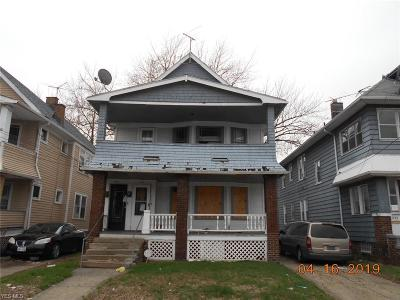 Cleveland Multi Family Home For Sale: 456 East 149th St