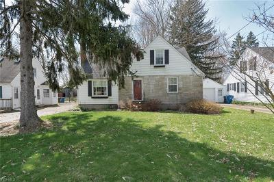 Lorain County Single Family Home For Sale: 1835 Grafton Rd