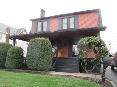 Struthers Single Family Home For Sale: 92 Sexton St