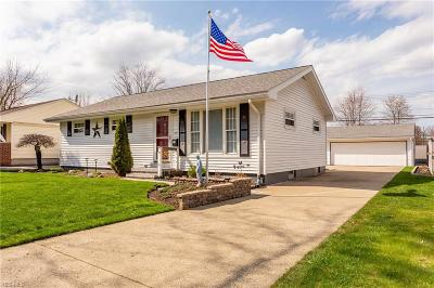 Lorain County Single Family Home For Sale: 1047 Oakwood Dr