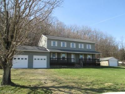 Licking County Single Family Home Contingent: 4595 Licking Valley Rd Southeast