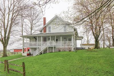 Ashland County Single Family Home For Sale: 929 Township Road 1243