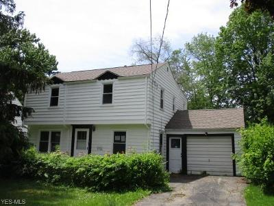 Mahoning County Single Family Home For Sale: 3536 Arden Blvd