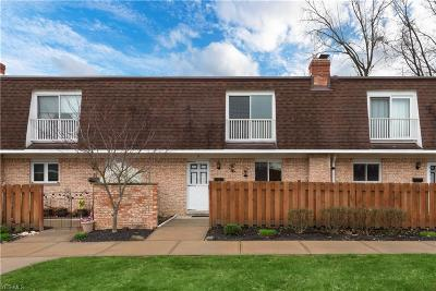 Parma Condo/Townhouse For Sale: 6480 State Rd #F8