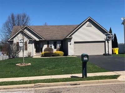 Columbiana Single Family Home Active Under Contract: 52 Pueblo Lane