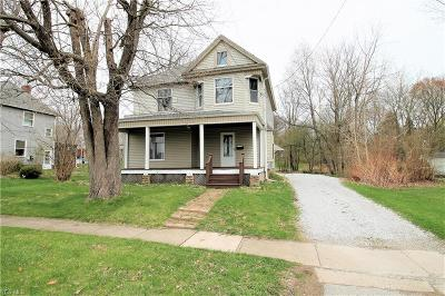 Wadsworth Single Family Home For Sale: 257 South Lyman St