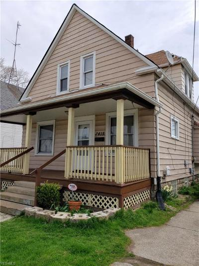 Cleveland Single Family Home For Sale: 3415 West 65th St