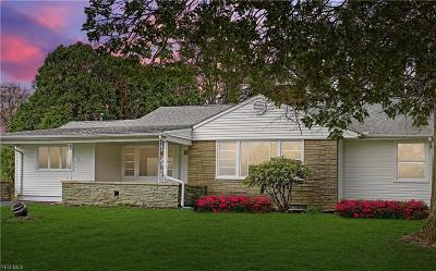 Canfield Single Family Home Active Under Contract: 24 N Hillside Road