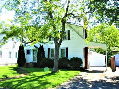 Newton Falls Single Family Home For Sale: 27 W Eighth Street