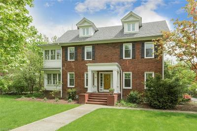 Shaker Heights Single Family Home For Sale: 2857 Litchfield Rd