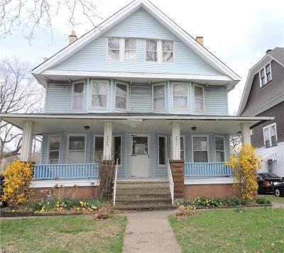 Cleveland Multi Family Home For Sale: 2049 West Blvd