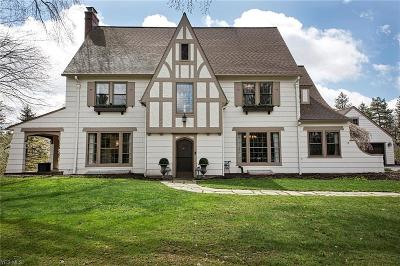 Chagrin Falls Single Family Home For Sale: 473 Falls Road