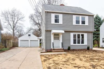 Lyndhurst Single Family Home For Sale: 1520 Commodore Rd