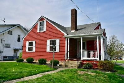 Columbiana County Single Family Home For Sale: 126 East Woodland Ave