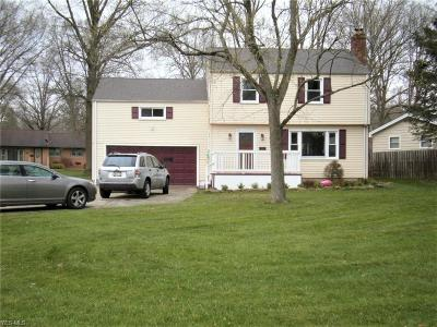 Mahoning County Single Family Home For Sale: 3451 Bentwillow Ln