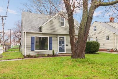 Cleveland Single Family Home For Sale: 4583 West 150th St