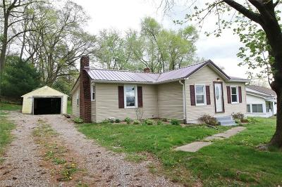Duncan Falls OH Single Family Home For Sale: $104,900
