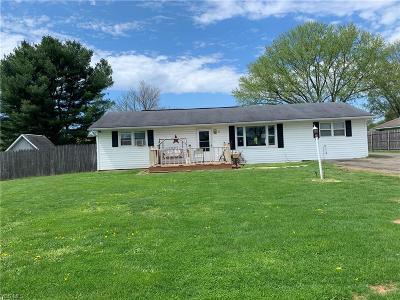 Single Family Home For Sale: 6115 Frazeysburg Rd