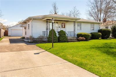 Lorain County Single Family Home For Sale: 1331 West 26th St