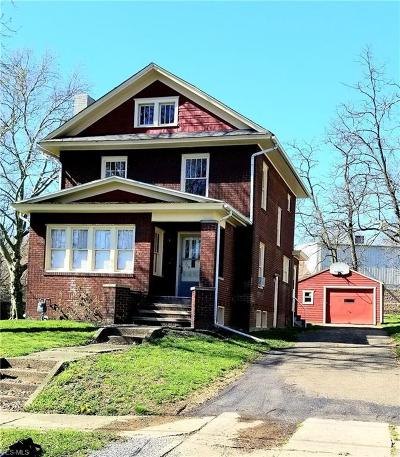 Columbiana County Single Family Home For Sale: 368 West 10th St