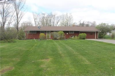 Strongsville OH Single Family Home For Sale: $105,000