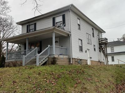 Muskingum County Multi Family Home For Sale: 119 Thompson Ave