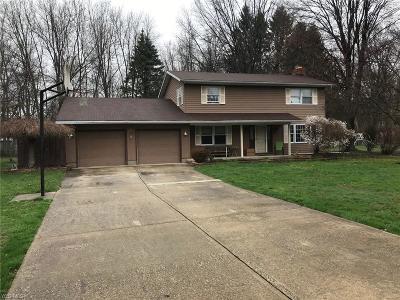 Conneaut Single Family Home For Sale: 1970 Bridgeview Ln