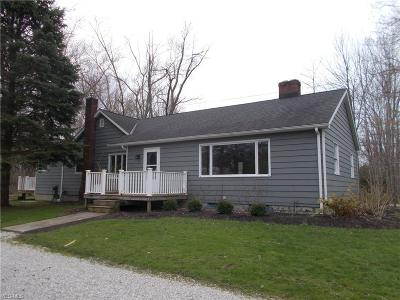 Ashtabula Single Family Home For Sale: 3410 Carpenter Rd
