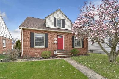 Rocky River Single Family Home Contingent: 603 South Falmouth Dr