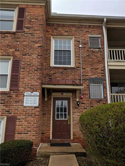 Lyndhurst Condo/Townhouse For Sale: 5835 Tiffany Ct