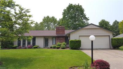 North Ridgeville Single Family Home For Sale: 6054 Hickory Trl