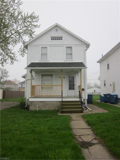 Lorain County Single Family Home For Sale: 2228 East 29th St