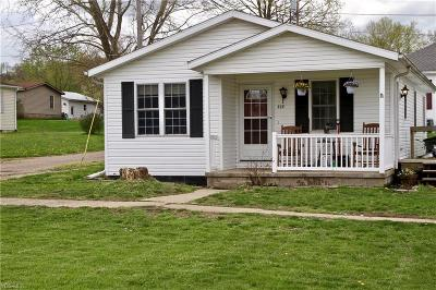 Muskingum County Single Family Home For Sale: 117 Silliman St