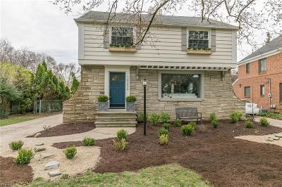 Fairview Park Single Family Home For Sale: 19239 Coffinberry Blvd