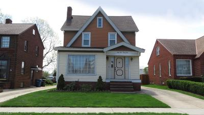 Cleveland Single Family Home For Sale: 6995 Hampstead Ave