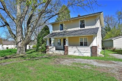 Struthers Single Family Home For Sale: 442 Poland Avenue