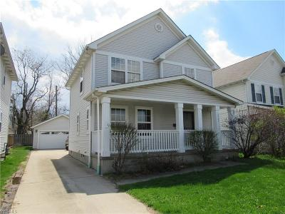 Cleveland Single Family Home For Sale: 8909 Clark Ave