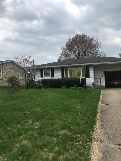 Massillon Single Family Home For Sale: 203 McCadden Ave Northeast