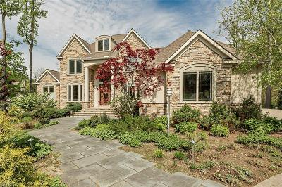 Chagrin Falls Single Family Home For Sale: 16460 Majestic Oaks