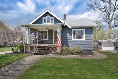 Fairview Park Single Family Home For Sale: 21064 Westwood Rd