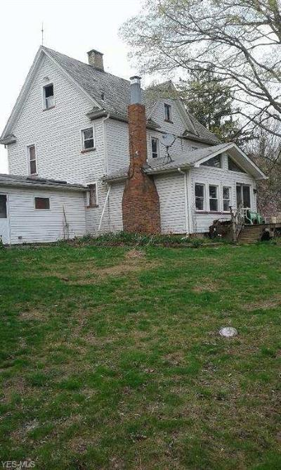 East Palestine Single Family Home Active Under Contract: 6547 Justison Road