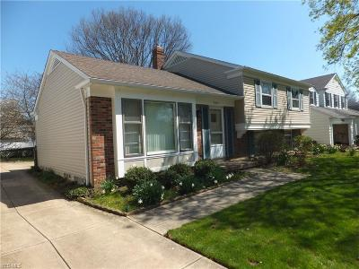 Fairview Park Single Family Home For Sale: 4243 West 202nd St