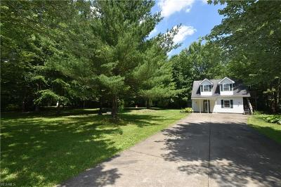 Newton Falls Single Family Home Active Under Contract: 746 N Jewell Road
