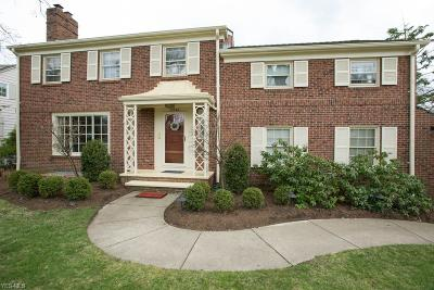 Shaker Heights Single Family Home For Sale: 22226 Douglas Rd