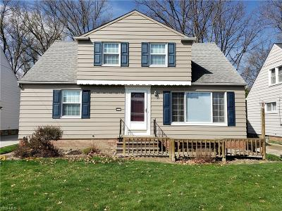 Wickliffe Single Family Home For Sale: 926 Bryn Mawr Avenue