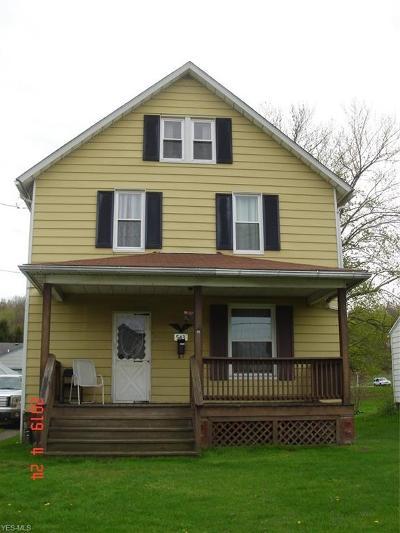 East Palestine Single Family Home For Sale: 543 E Main Street