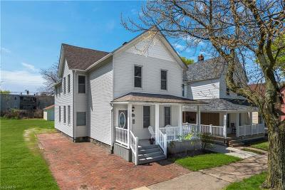 Cleveland Single Family Home Active Under Contract: 1900 W 50th Street