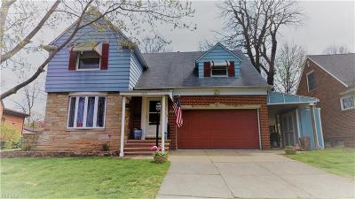 Parma Single Family Home For Sale: 5691 Onaway Oval